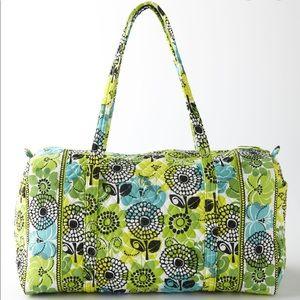 """Vera Bradley """"Limes Up"""" duffle bag"""